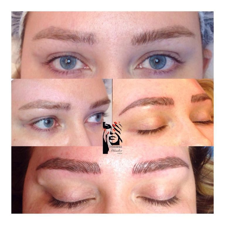 COVER UP 3D-bryn, Microblading