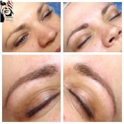 3D-bryn, microblading